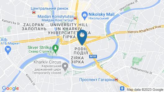 Pletnevskiy Inn Hotel Map