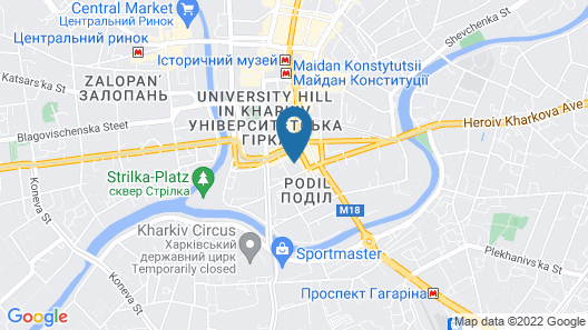 Cool Apartments in the center Map