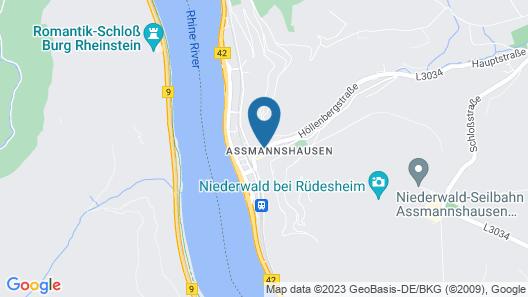 AKZENT Hotel Berg´s Alte Bauernschänke Map