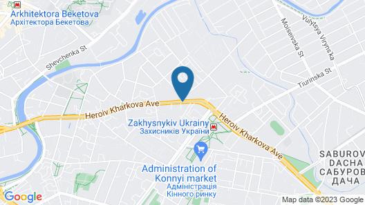 Mirax Boutique Hotel Map