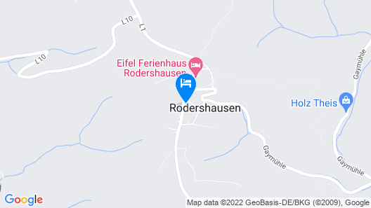 Spacious Apartment in Rodershausen With Barbecue Map