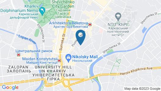 Reikartz Kharkiv Map