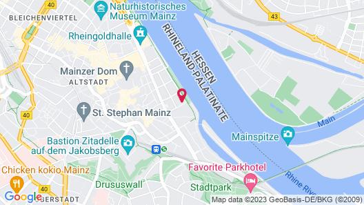 Hyatt Regency Mainz Map