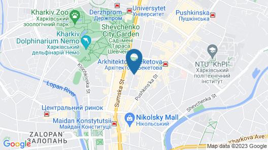 Chichikov Hotel Map