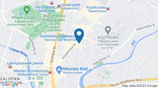 Kizhi Hotel Map