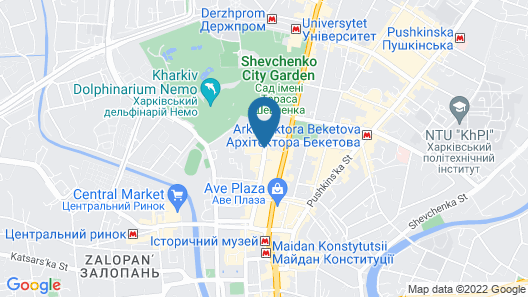 Gostinii Dvor Map