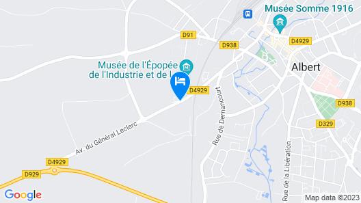 Hotel Royal Picardie Map