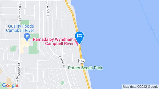 Ramada by Wyndham Campbell River Map