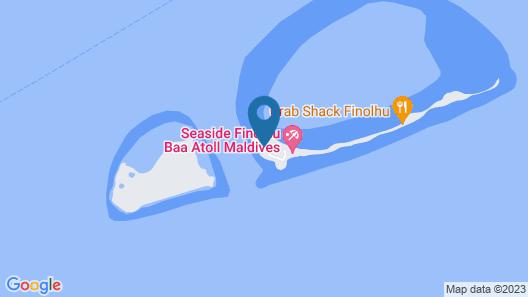 Seaside Finolhu Resort Maldives Map