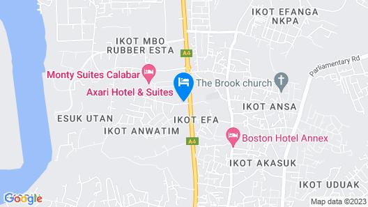 Axari Hotel & Suites Map