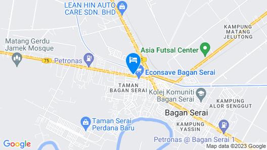 K Garden Hotel Bagan Serai Map