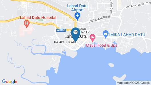 The Executive Hotel Lahad Datu Map