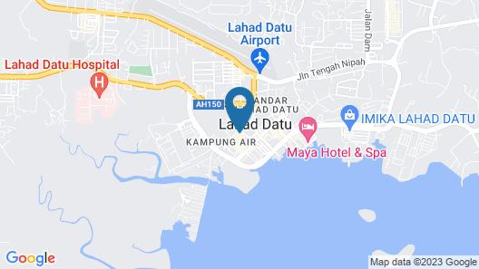 Golden Palms Hotel Map
