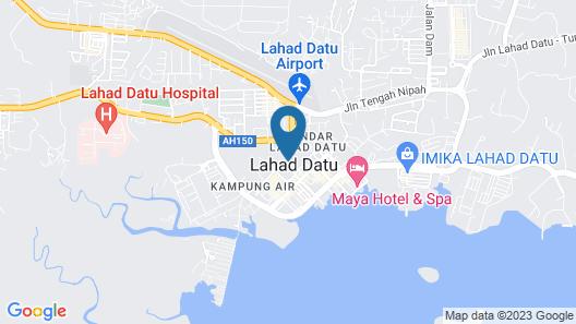 Grace Hotel Lahad Datu Map