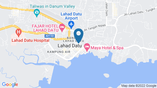 MB Hotel Lahad Datu Map