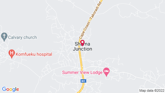 SUMMER VIEW LODGE Map