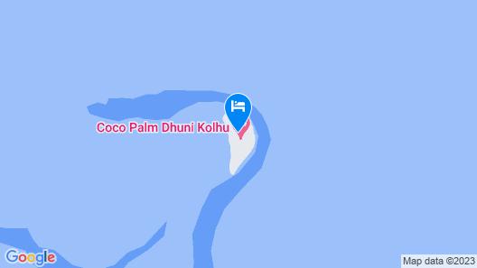Coco Palm Dhuni Kolhu Map