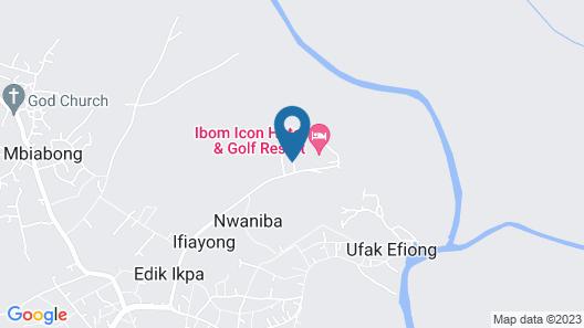 Ibom Icon Hotel & Golf Resort Map