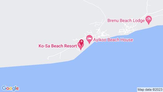 Charlestina Beach Resort Map