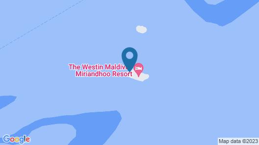 The Westin Maldives Miriandhoo Resort Map
