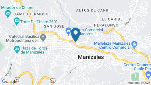 Hotel Carretero Map
