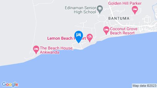 Elmina Bay Resort Map
