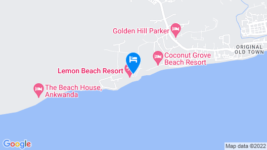 Lemon Beach Resort Map