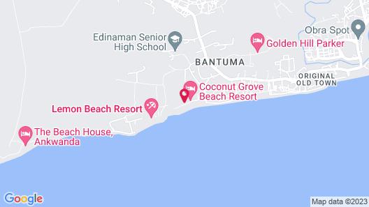Coconut Grove Beach Resort Map