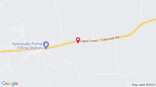 Menyinda Hotel and Restaurant Map