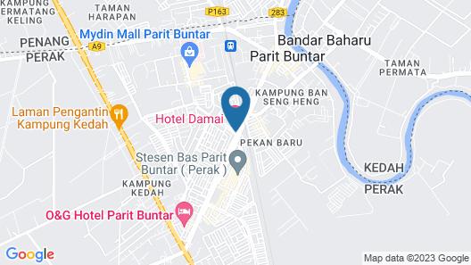 Hotel Damai Map