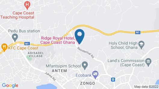 Ridge Royal Hotel Map