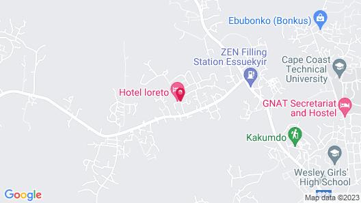 Hotel Loreto Map