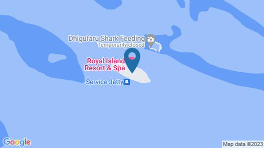 Royal Island Resort And Spa Map