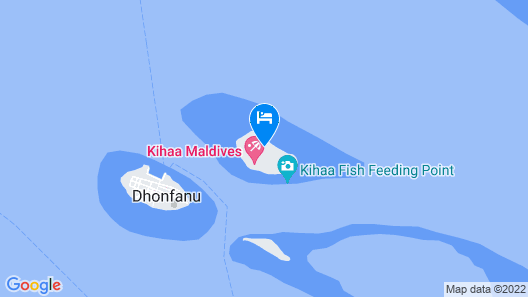 Kihaa Maldives Map