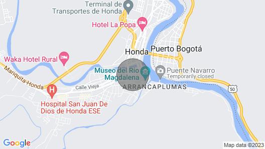 Get Away House in Honda Columbia Map