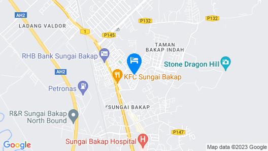 Homestay Sungai Bakap Map
