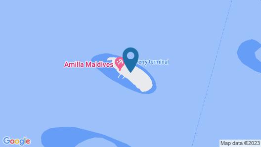 Amilla Maldives Resort and Residences Map