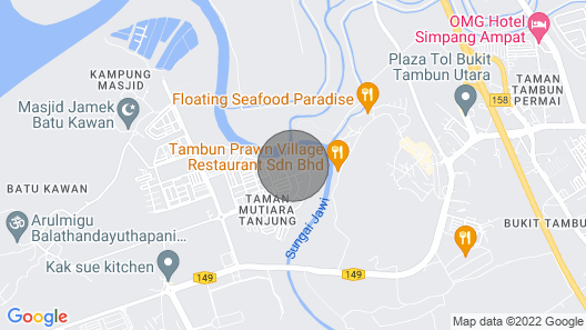 Peaceful Homestay Batu Kawan, Near Ikea, Stadium Map