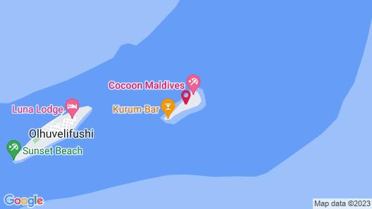 Cocoon Maldives Map