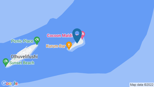 Cocoon Maldives Map