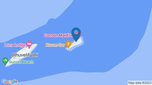 Cocoon Maldives - All Inclusive Map