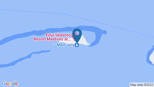 Four Seasons Maldives at Landaa Giraavaru Map