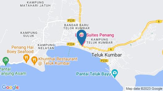 Lexis Suites Penang Map