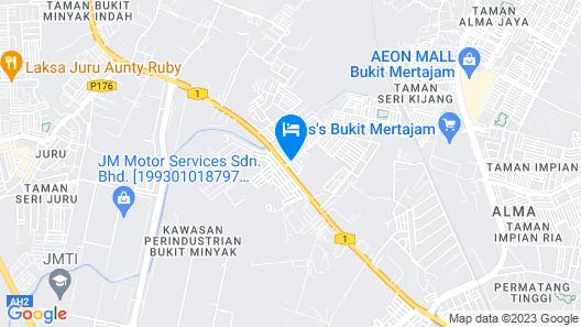 Luscious Hotel Map