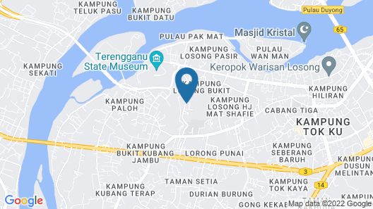 DBukit Losong Villa 2 Kuala Terengganu Map
