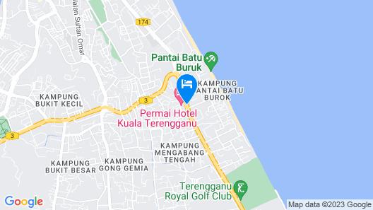 Permai Hotel Map