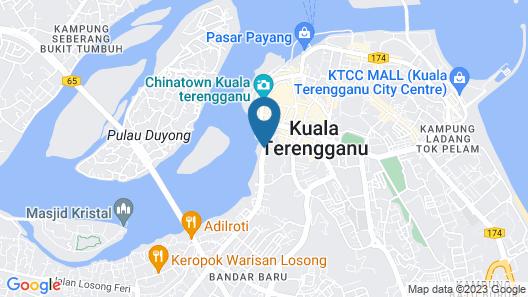 FELDA Residence Kuala Terengganu Map