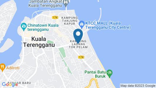 Penginapan Amisu Map