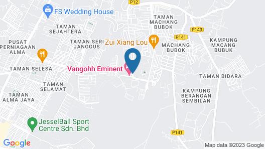 Vangohh Eminent Hotel & Spa Map