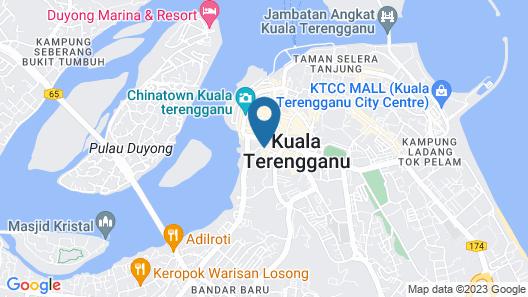 J Suites Hotel Map